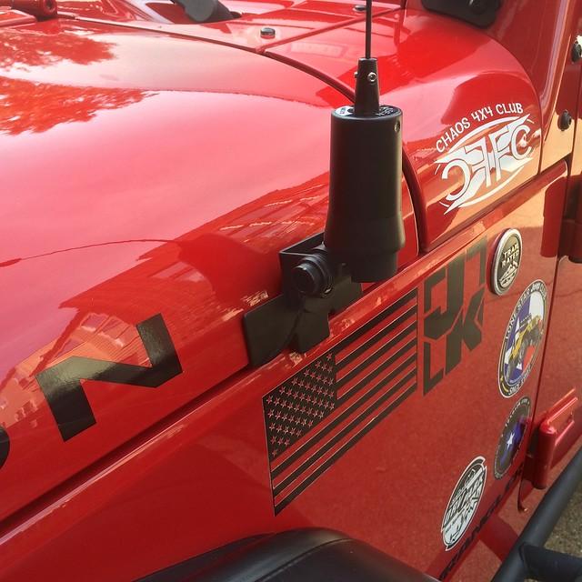 Jeepforum Com Ham Radio And Antenna Install Jk