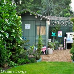 Garden shed colour