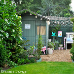 Garden shed colour
