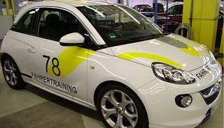 Opel ADAM S Tarnung