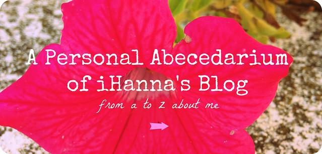 A Personal Abecedarium of iHanna