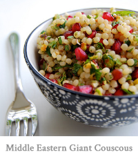 Middle Eastern Giant Couscous
