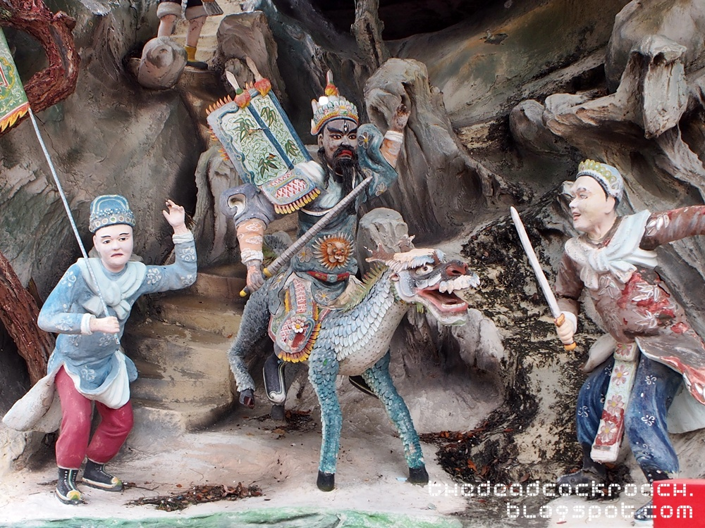 aw boon haw, aw boon par, chinese values, folklore, haw par villa, mythology, sculptures, statues, ten courts of hell, tiger balm, tiger balm garden, 虎豹别墅, singapore, where to go in singapore,investiture of the gods,封神榜, 封神演义,erlang shen,二郎神