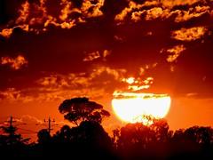 10/10/14 Friday night's sunset