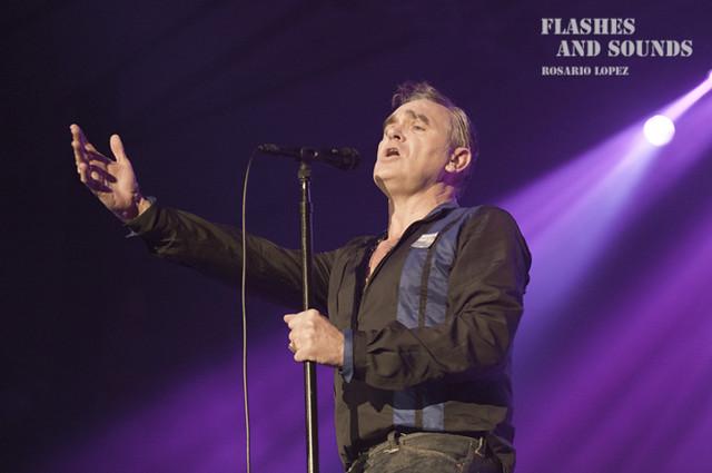 Morrissey en concierto en Barcelona
