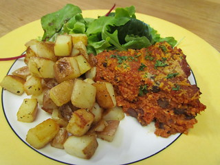Potatas Bravas Frittata with Homefries
