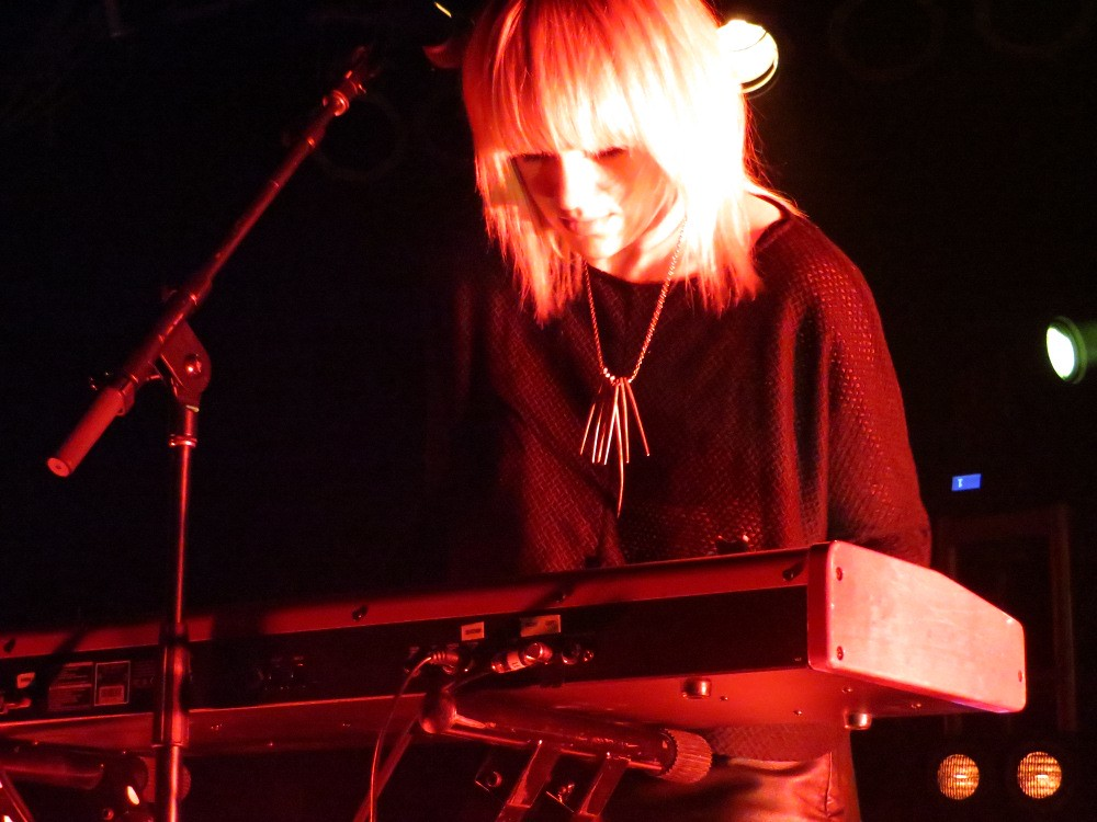Anna Bulbrook of The Airborne Toxic Event. Photo by Julie.