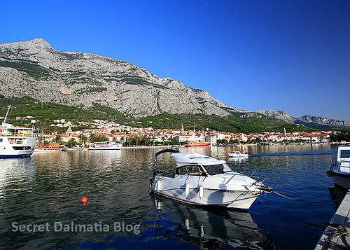Biokovo mountain overlooking Makarska