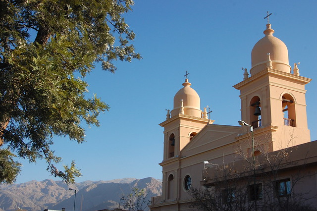 Church in Cafayate, Argentina
