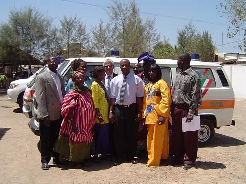 Un'ambulanza per il Gambia
