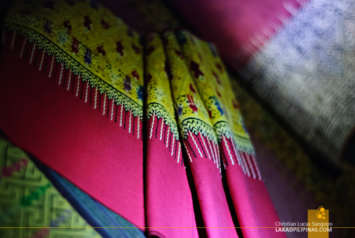 Textiles at Lanna Folklife Museum in Chiang Mai