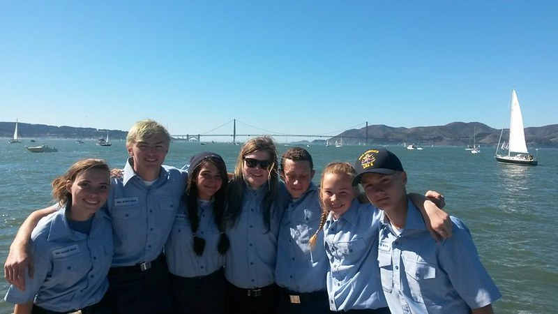 Fleet Week with Petaluma Sea Scouts