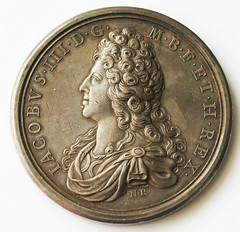 1712 death of Princess Louisa medal obverse