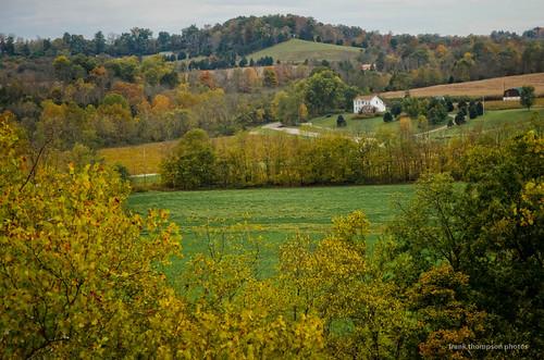ohio farmhouse landscape unitedstates peebles autumnfall adamscountyohio
