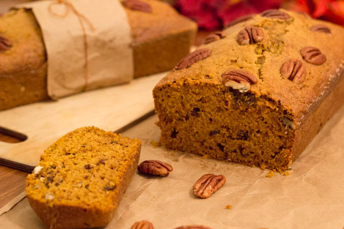 pumpkin pecan bread-6