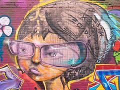 Graffiti Mural, West Bronx, New York City