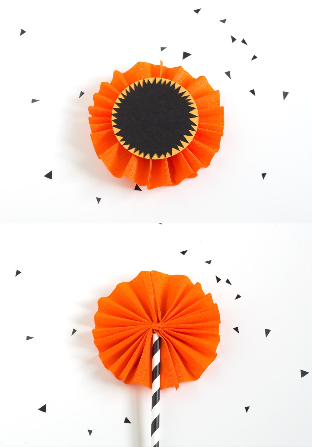 DIY Halloween Plant Decoration