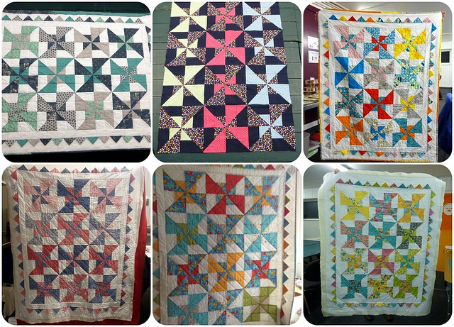 Pinwheels & Prairies Quilt class