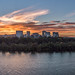 Panorama Sunset Over Rosslyn