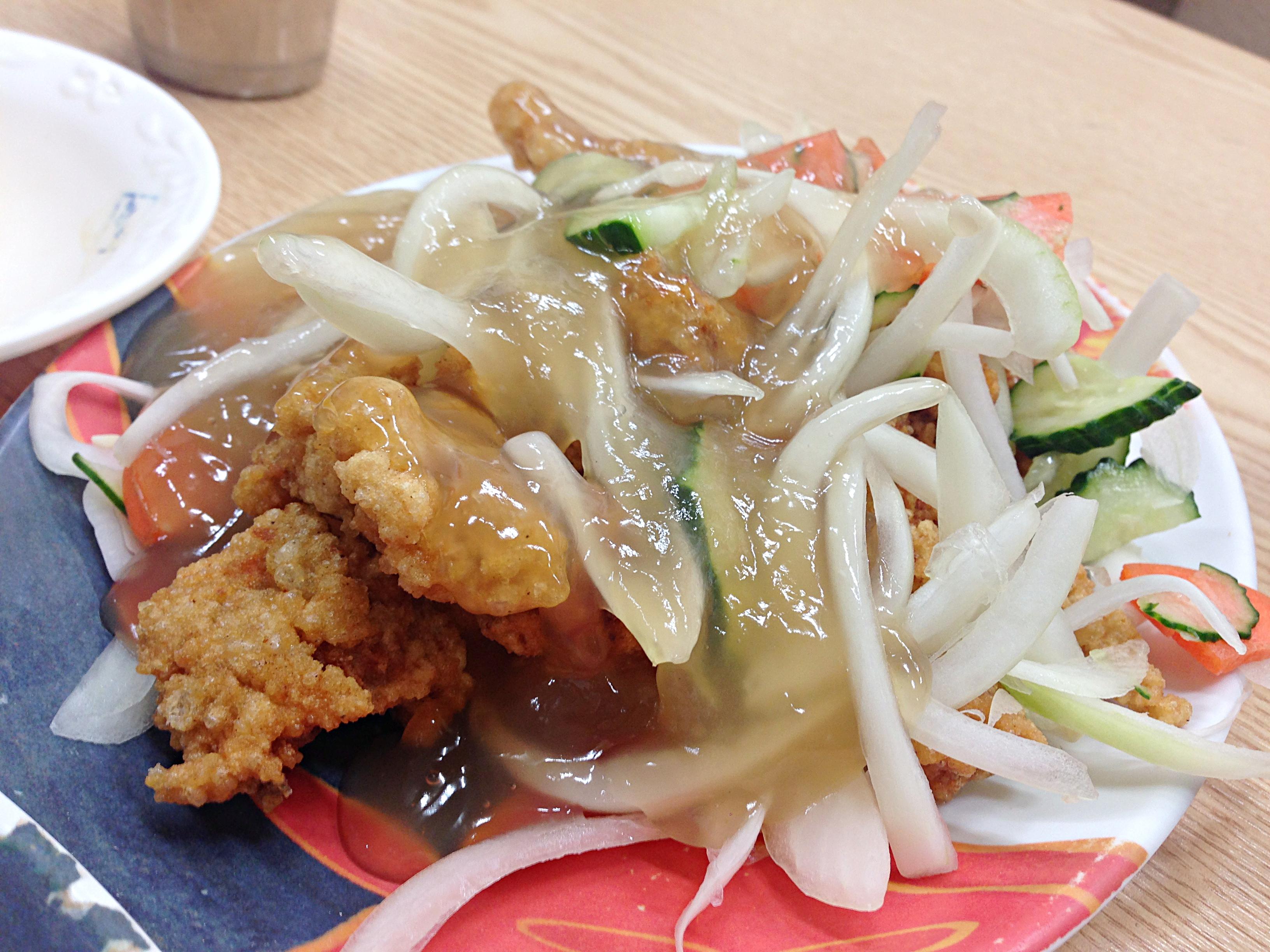 26 Sep 2014: Sweet & Sour Pork lunch!