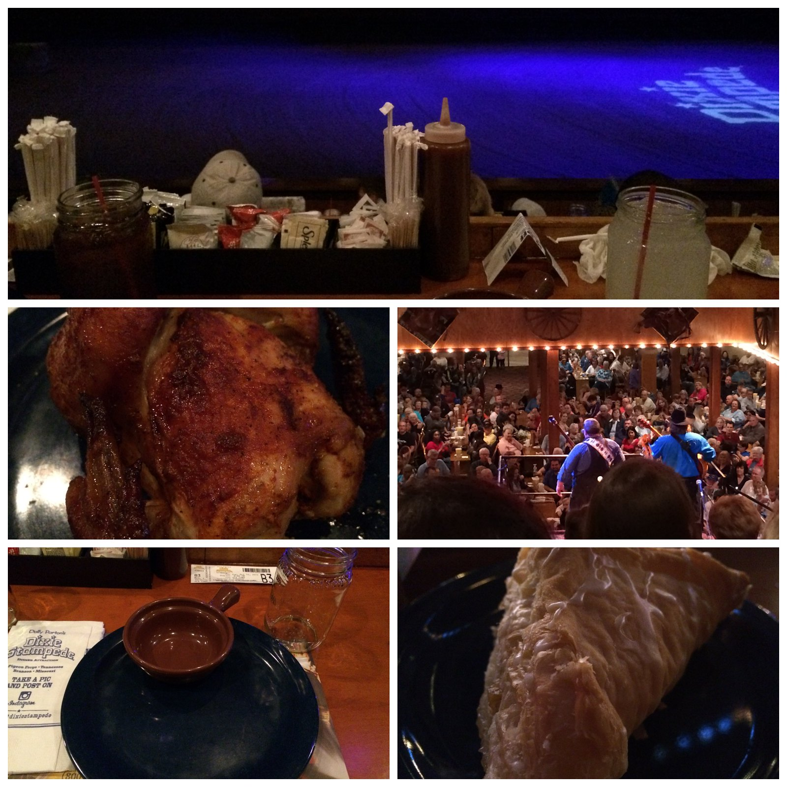 Dixie Stampede Collage