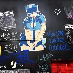 Rue de Verneuil (75007) #paris #graffiti...