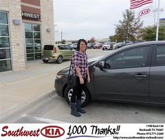 #HappyAnniversary to William Light on your 2013 #Kia #Forte from Kathy Parks at Southwest KIA Rockwall!