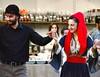 Young Cretan dancers in Athens