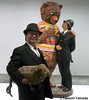 Seara (sea rabbit) and Dr. Takeshi Yamada visited the art exhibition of Jeff Koons at the Whitney Museum of American Art in Manhattan, NY on October 10, 2014. 20141010 198===C