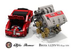 Alfa Romeo Brera Coupe (Ty 939) & UCS 3.2 JTS V6 Engine