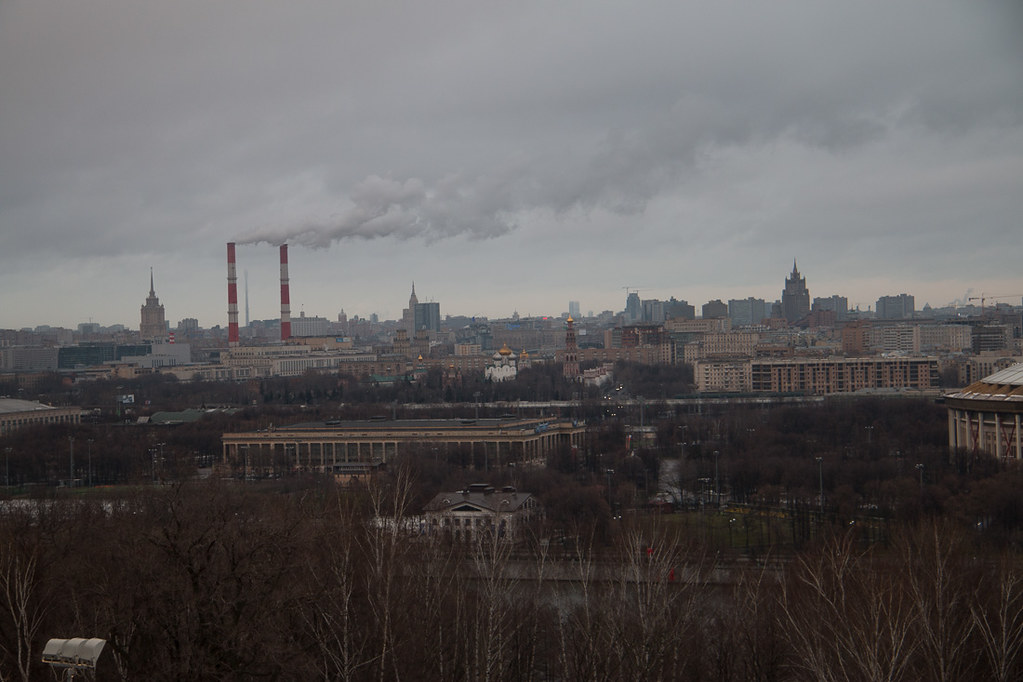 View of Moscow from Sparrow Hills
