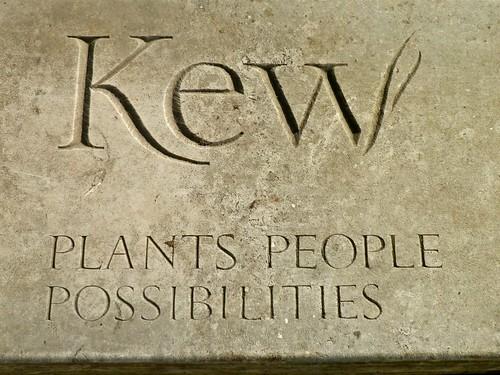 Kew sign