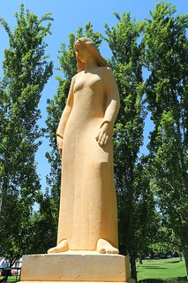 Sculpture of Woman