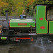 Small photo of Boiler washout on Loco 3 Dolbadarn.