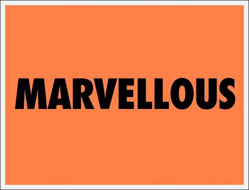 BLOG - Marvellous