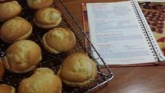 meal(0.0), breakfast(0.0), coconut(0.0), street food(0.0), produce(0.0), dish(0.0), takoyaki(0.0), baking(1.0), baked goods(1.0), food(1.0), dessert(1.0), cuisine(1.0), snack food(1.0), cooking(1.0),