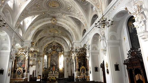2014-N826 Österreich Gemeinde Hall Jesuitenkirche innen