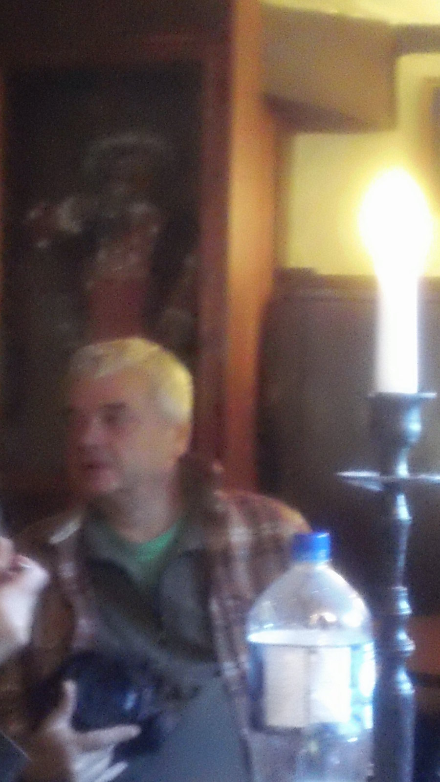The Ghost of Henry... at his pub in Hever...