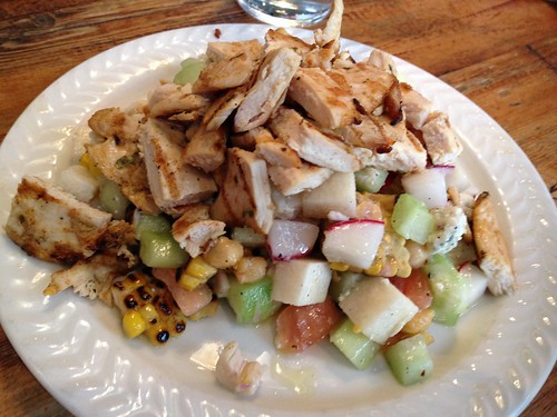 Spitzer's chicken chopped salad