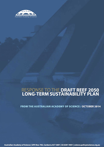 Australian Academy of Science response to the draft Reef 2050 Long-term Sustainability Plan @Science_Academy