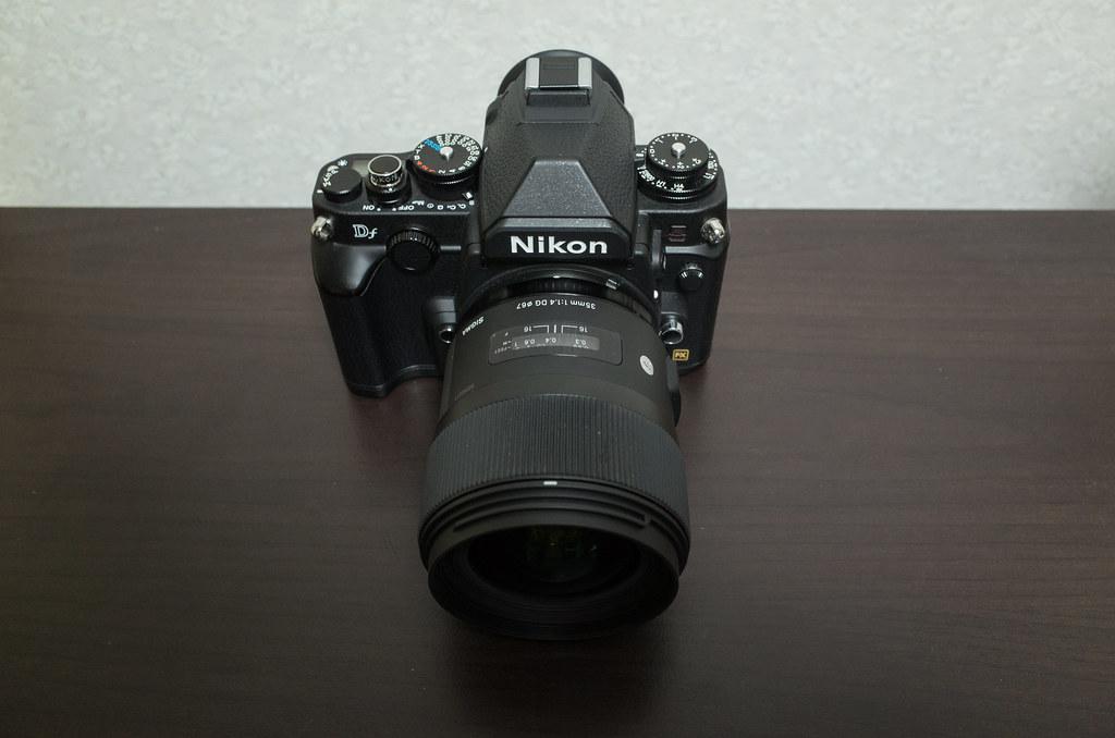 DF + SIGMA 35mm F1.4 DG HSM