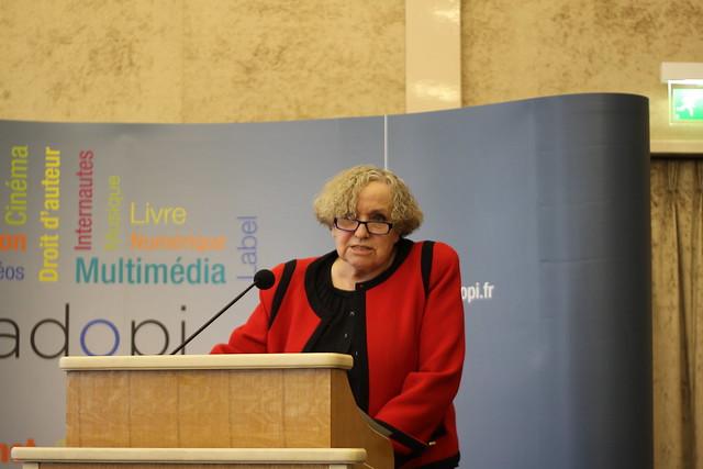 Marie-Françoise Marais - Rapport d'activité 2014 Hadopi