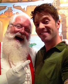 Santa Claus and J.D. Scott