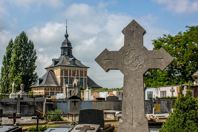 Cementerio de la Abadía del Parque, Lovaina en Bélgica
