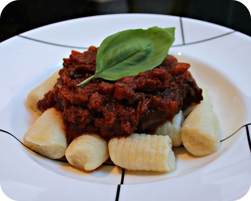 Braised Short Ribs with Parmesan Gnocchi