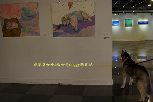 哈士奇畫展04