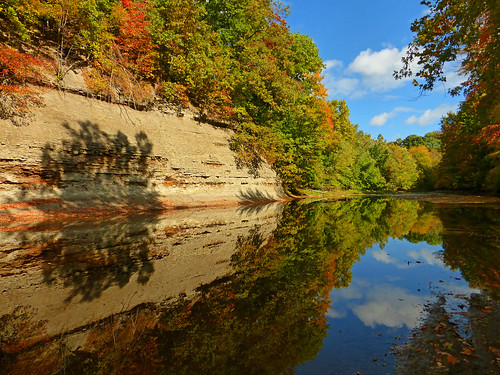 travel blue autumn trees ohio sky reflection tree fall water colors leaves reflections river landscape outdoors photography photo photographer photos patterns indian scenic trails hike adventure changing photograph amateur junglejims ashtabula