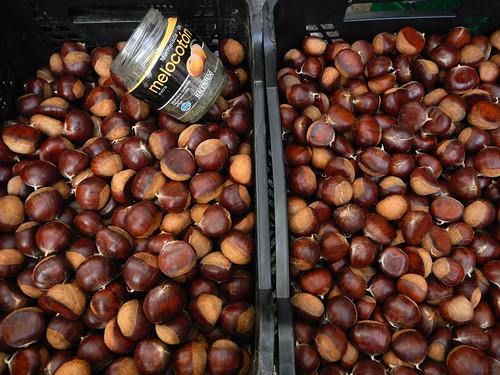 Chestnuts Santiago de Compostela