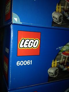 Lego set 60061 new box design and opening?