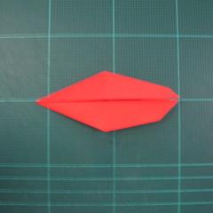 วิธีพับกระดาษเป็นรูปแมลงปอ (Origami Dragonfly) 011